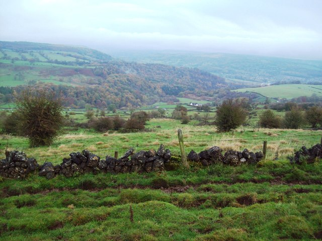 View from the Limestone Way near Winster