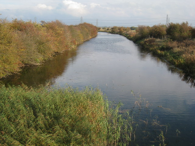View along Warping Drain