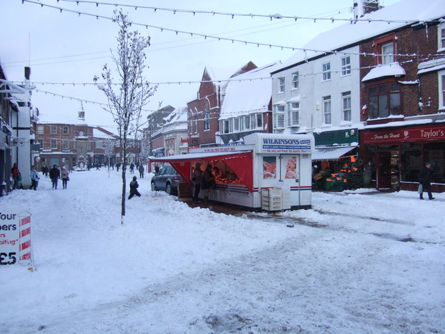 Ormskirk Market - Saturday before Christmas 2010
