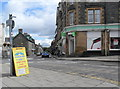 NN8549 : Co-operative store, Aberfeldy by nick macneill