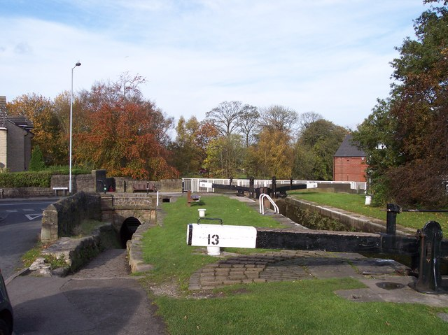 Lock 13 at Marple