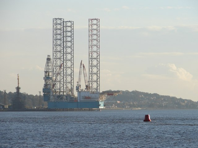 Fowler Rock Buoy and Rig at Prince Charles Wharf