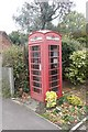 SU5599 : Phone box at the PO by Bill Nicholls