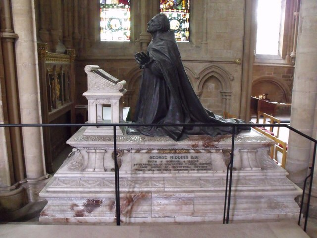 Tomb of George Ridding, Southwell Minster