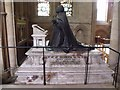 SK7053 : Tomb of George Ridding, Southwell Minster by J.Hannan-Briggs