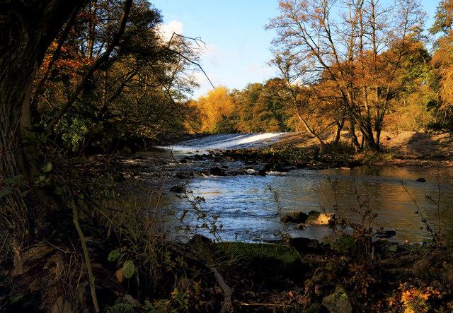 Calver Weir