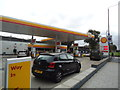 TQ2877 : Petrol station, Queenstown Road, Battersea by Stacey Harris