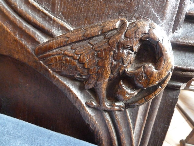 St  Botolph's - Choir Stall Carvings - 11