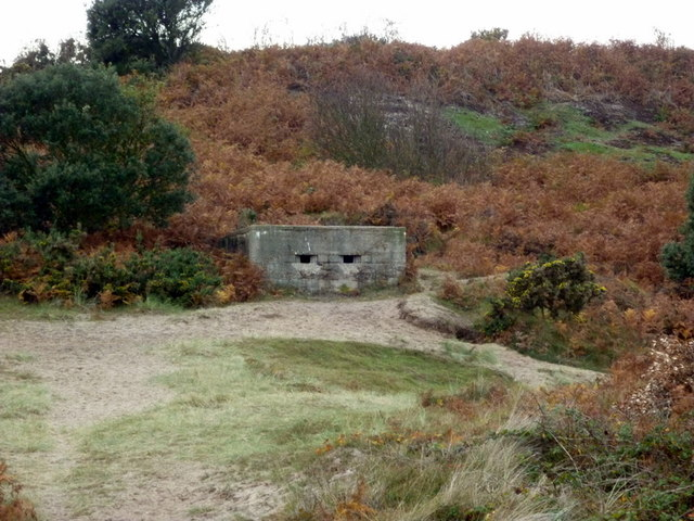 A pillbox at Gunton Denes