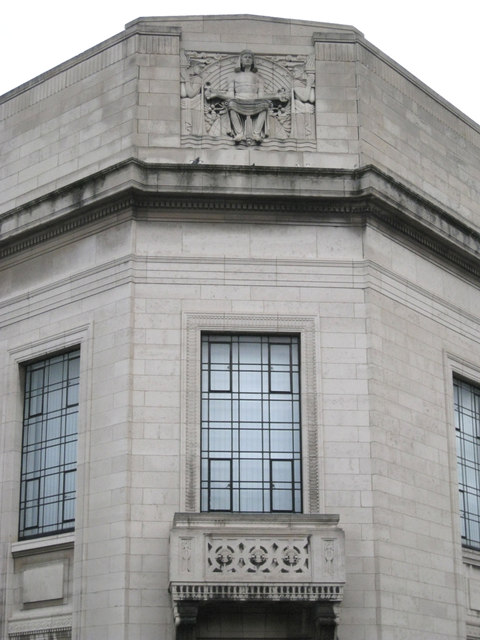West corner, Central Library, Surrey Street