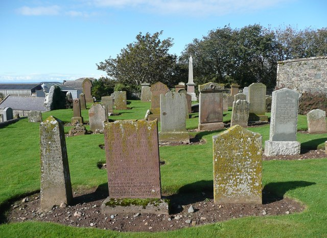 The churchyard, Ballantrae