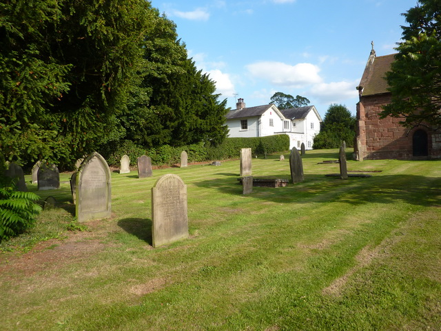 St Margaret's Church, Betley, Graveyard