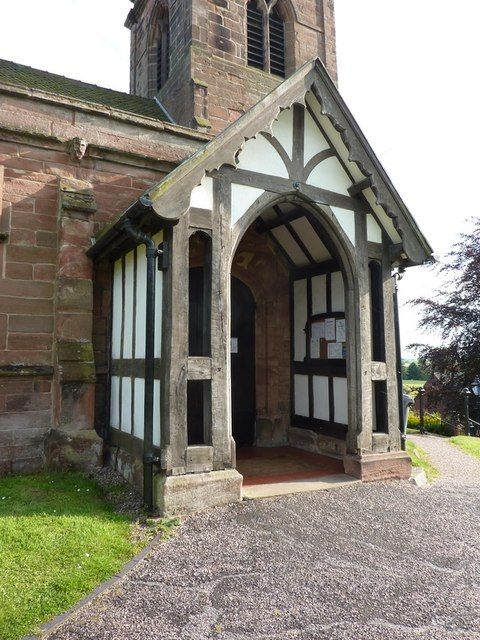 St Margaret's Church, Betley, Porch