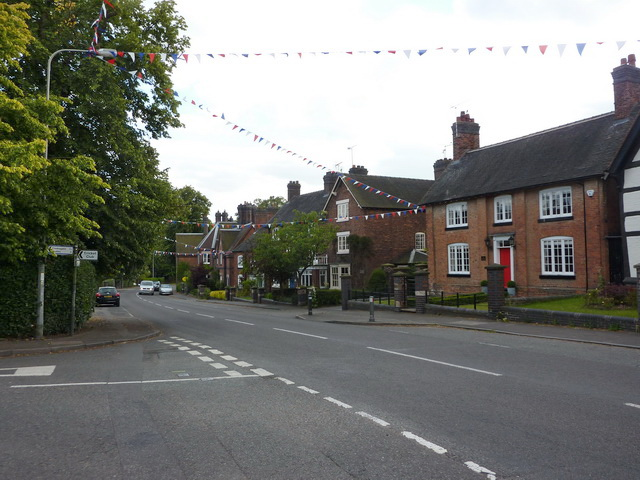 Main Road, Betley