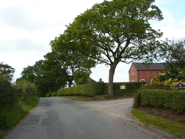 Knowlbank Road at Knowl Bank Farm