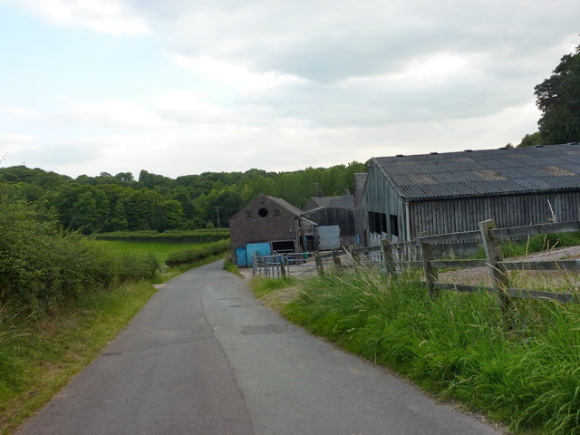 Heighley Lane at Heighley Castle Farm