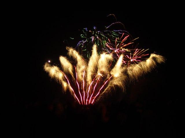 Roundhay Park Fireworks, 4 Nov 2011