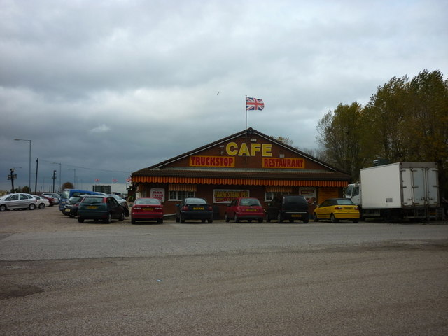 Cafe & Farm Shop on the A17, Washway Road
