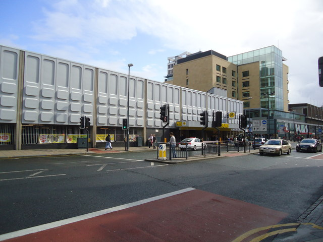 Morrisons supermarket, The Merrion Centre, Leeds
