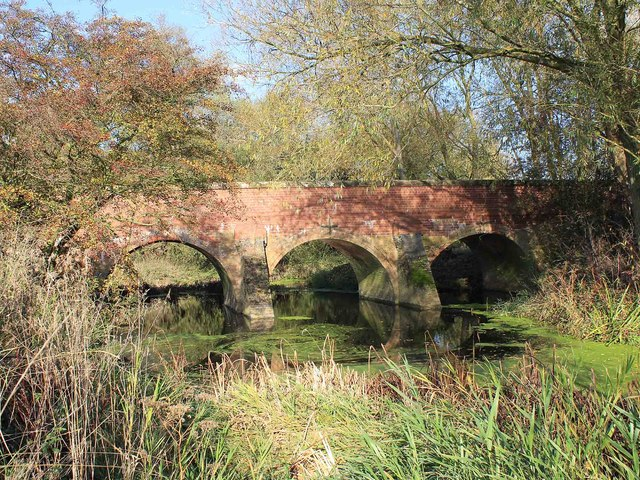 Bridge over River Leam at Eathorpe