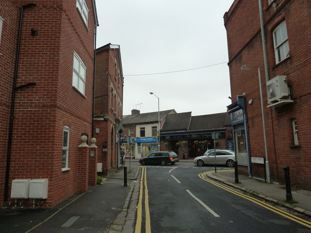 Looking from North Street into Prospect Street