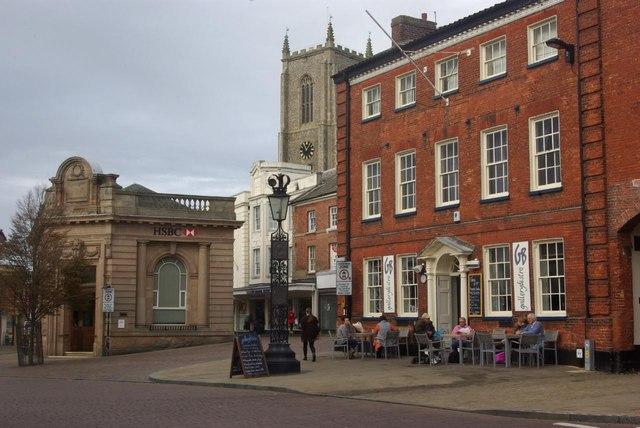 Market Place, Fakenham