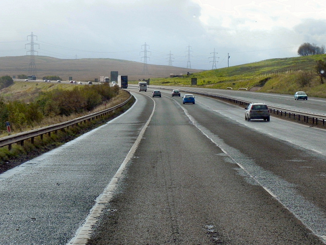M74 Southbound