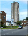 ST2995 : The Tower Block, Cwmbran by John Grayson