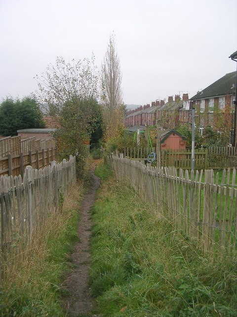 Footpath - Hepworth Avenue