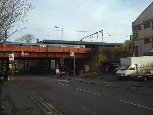Hackney Downs Railway Station Hackney