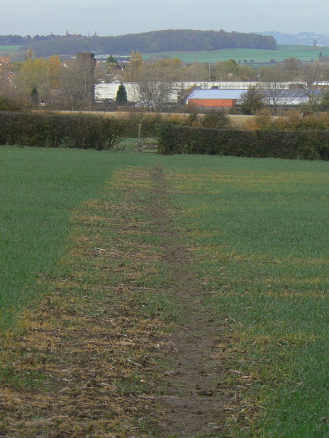 Footpath to Platt Lane