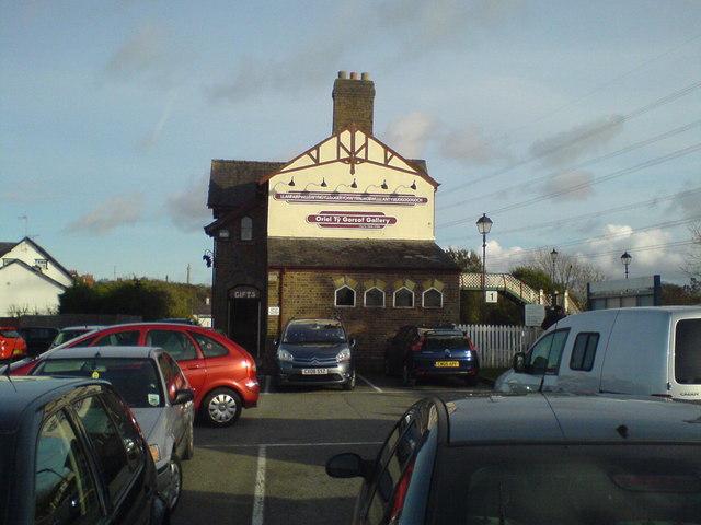 Llanfairpwllgwyn station Holyhead Road (A5)