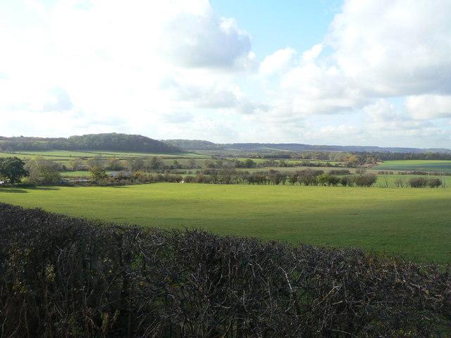 Valley of the Fairham Brook