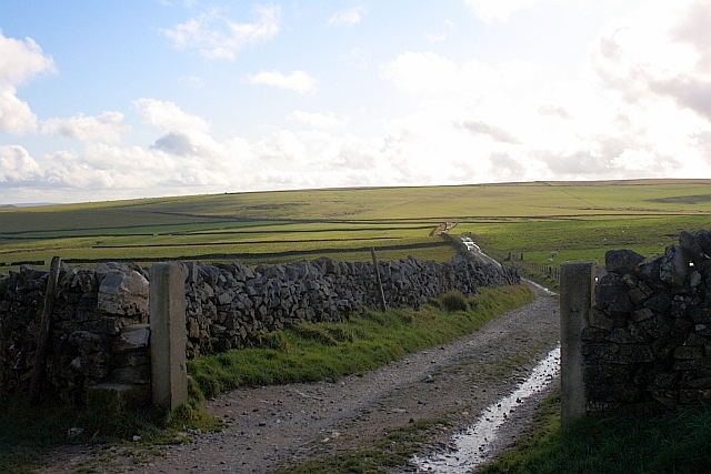 View Across to Bradwell Moor