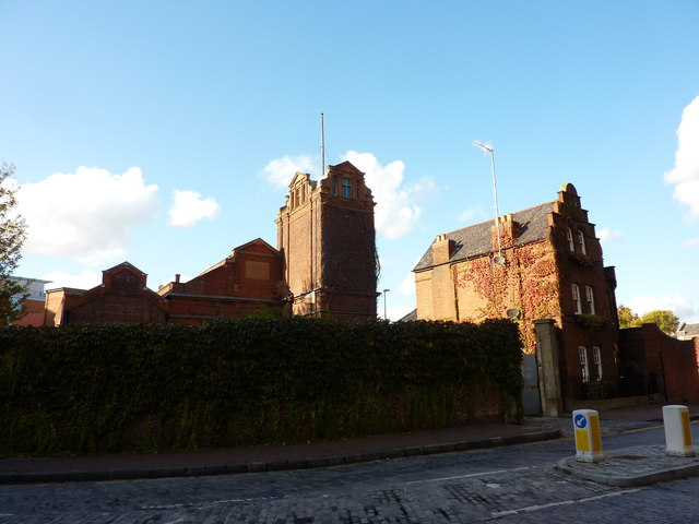 The buildings of the former &quot;London Hydraulic Power Company&quot;