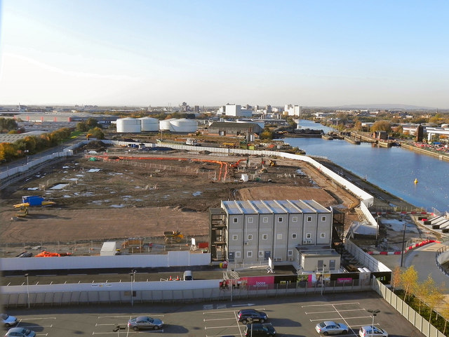 Trafford Wharf; Site for New ITV Studios