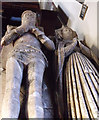 SK9856 : Tomb of Sir Richard de Buslingthorpe and his wife Isabella by J.Hannan-Briggs