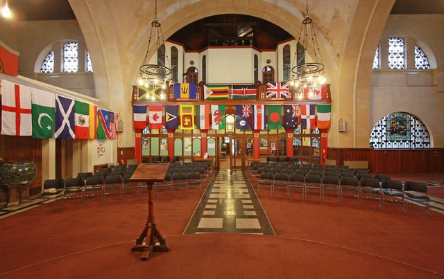 Christ Church, Brixton Road, North Brixton - West end