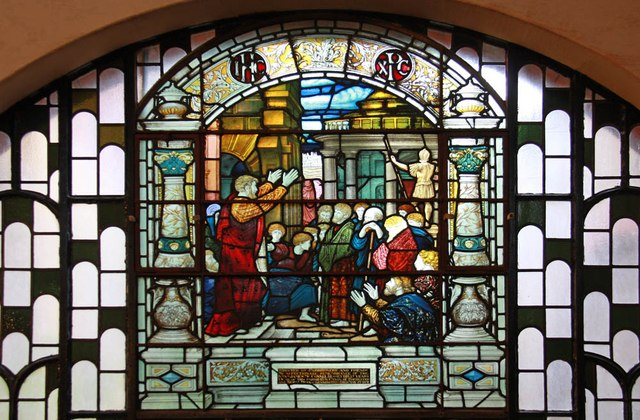 Christ Church, Brixton Road, North Brixton - Stained glass window