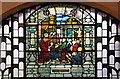 TQ3177 : Christ Church, Brixton Road, North Brixton - Stained glass window by John Salmon