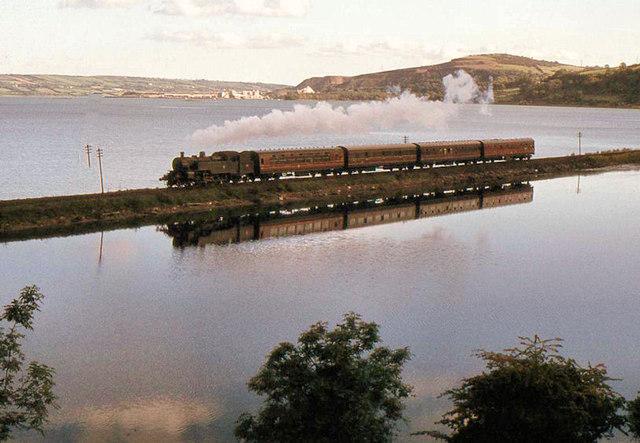 Steam train, Glynn/Larne