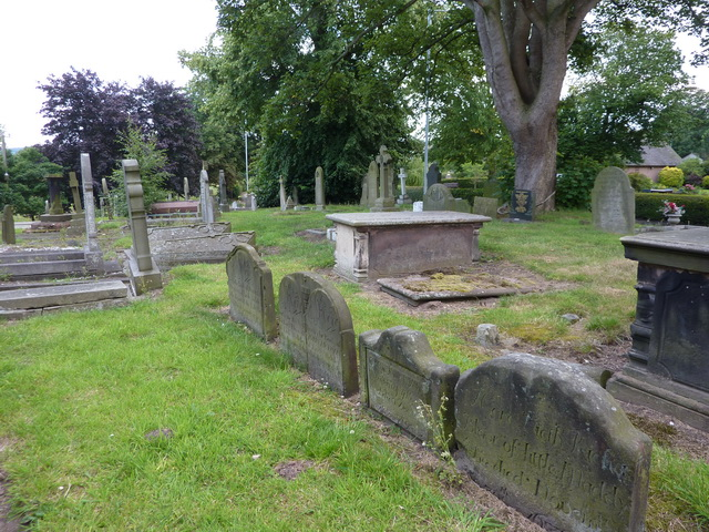 All Saints', The Parish Church of Madeley, Graveyard