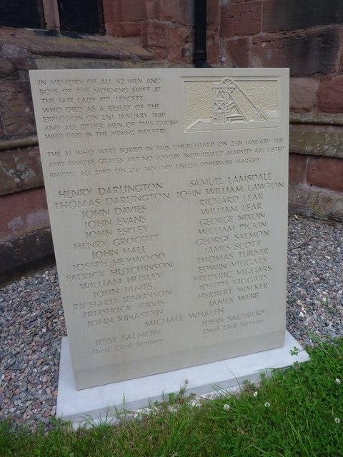 The Fair Lady Pit Memorial