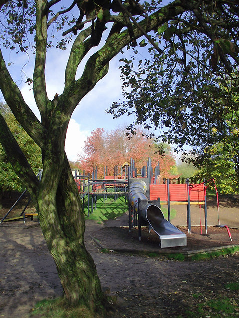Play area in Baggeridge Country Park near Sedgley