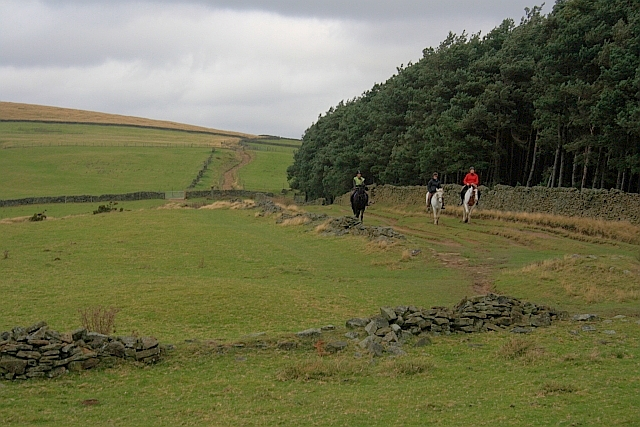 Public Bridleway near Hope Cross