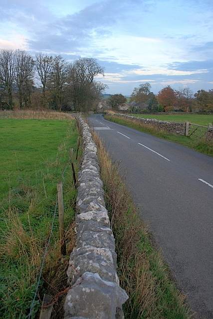 Wall along Road  to Foolow