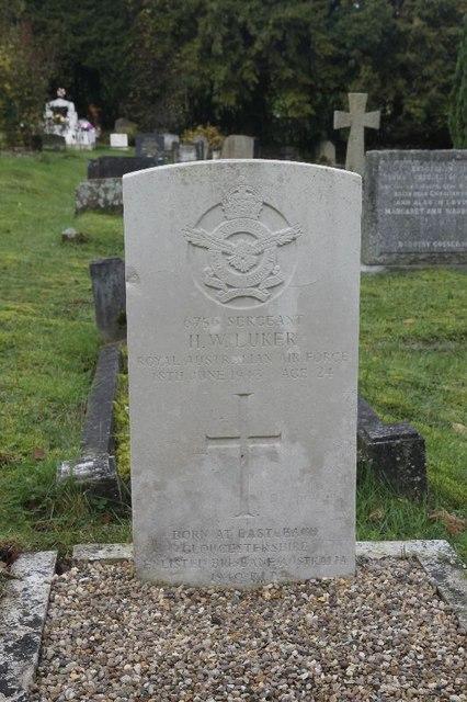 Sergeant H W Luker