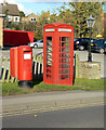 SK6131 : Nottingham Road postbox ref no NG12 152 by Alan Murray-Rust