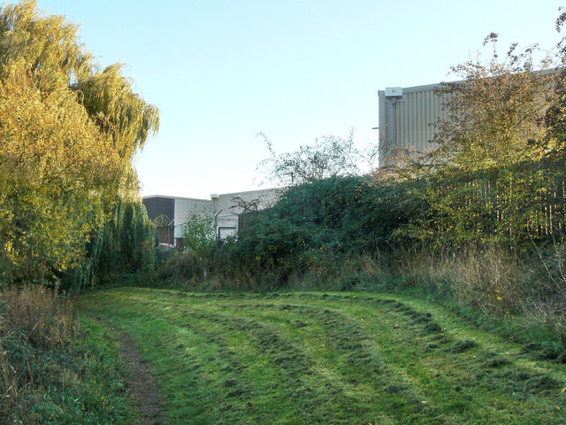 Footpath at the back of the Geological Survey