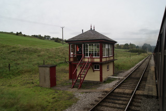 Damems Junction Signal Box and Passing Loop, K&WV Railway
